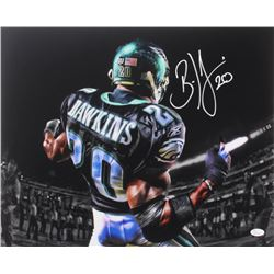 Brian Dawkins Signed Eagles 16x20 Photo (JSA COA)