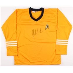 "William Shatner Signed Star Trek ""Captain James T. Kirk"" Prop Replica Uniform Shirt (JSA COA  Radtke"