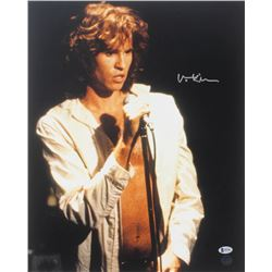 "Val Kilmer Signed ""The Doors"" 16x20 Photo (Beckett COA  Kilmer Hologram)"