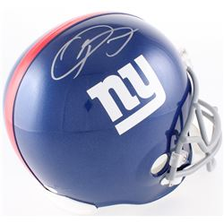 Odell Beckham Jr Signed Giants Full-Size Helmet (JSA COA)