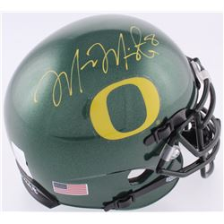 Marcus Mariota Signed Oregon Ducks Mini Helmet (JSA COA  Mariota Hologram)