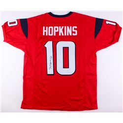 DeAndre Hopkins Signed Texans Jersey (JSA COA)
