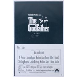 "James Caan Signed ""The Godfather"" 24x36 Movie Poster Inscribed ""Sonny"" (Schwartz COA)"