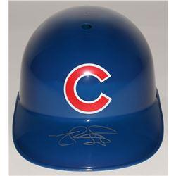 Matt Szczur Signed Cubs Full-Size Batting Helmet (Schwartz COA)