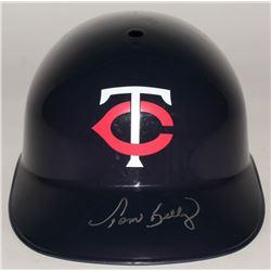 Tom Kelly Signed Twins Full-Size Batting Helmet (Schwartz COA)