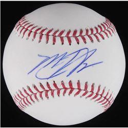 Matt Harvey Signed OML Baseball (Schwartz COA)