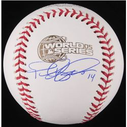 Paul Konerko Signed Official 2005 World Series Baseball (Schwartz COA)