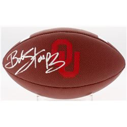 Bob Stoops Signed Oklahoma Sooners Logo Football (Sports Collectibles COA)