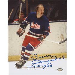 "Bobby Hull Signed Jets 8x10 Photo Inscribed ""HOF 1983"" (Schwartz COA)"
