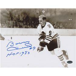 "Bobby Hull Signed Blackhawks 8x10 Photo Inscribed ""HOF 1983"" (Schwartz COA)"