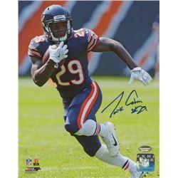 Tarik Cohen Signed Bears 8x10 Photo (Schwartz COA)