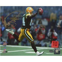 Andre Rison Signed Packers Super Bowl XXXI 8x10 Photo (Schwartz COA)