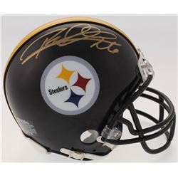 Rod Woodson Signed Steelers Mini Helmet (Schwartz COA)