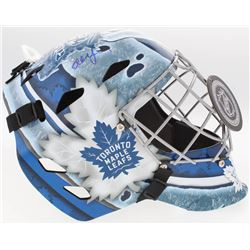 Ed Belfour Signed Maple Leafs Full-Size Goalie Mask (Schwartz COA)