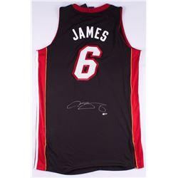 LeBron James Signed Heat Authentic On-Court Jersey (UDA COA)