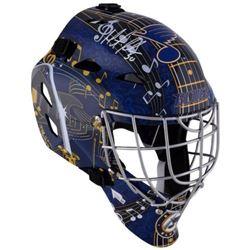 Martin Brodeur Signed Blues Full-Size Goalie Mask (Fanatics Hologram)