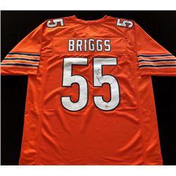 Lance Briggs Signed Bears Jersey (Beckett COA)