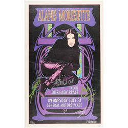 """""""Our Lady Peace"""" 15.5x25 Limited Edition Concert Poster Signed by (4) with Raine Maida, Mike Turner,"""