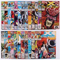 "Lot of (25) Marvel ""X-Men"" Comic Books"