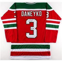 Ken Daneyko Signed Throwback 80's Rookie Era Devils Jersey Inscribed  Mr. Devil  (JSA COA)
