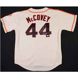 "Willie McCovey Signed Giants Jersey Inscribed ""HOF 86"" (JSA COA)"