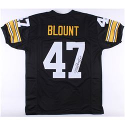 "Mel Blount Signed Steelers Jersey Inscribed ""HOF 89"" (JSA COA)"