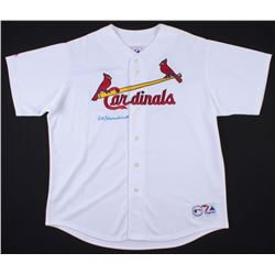 Red Schoendienst Signed Cardinals Jersey (TriStar Hologram)