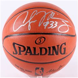 Alonzo Mourning Signed NBA Game Ball Series Basketball (Beckett COA)