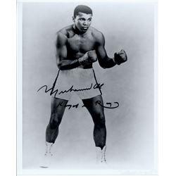 "Muhammad Ali Signed 8x10 Photo Inscribed ""King of the Ring"" (JSA LOA)"