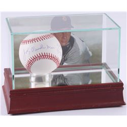 """Johnny Vander Meer Signed ONL Baseball Inscribed """"6/11/38"""" and """"6/15/38"""" with High-Quality Photo Dis"""