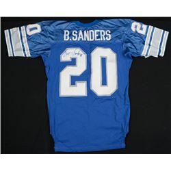 Barry Sanders Signed Wilson Lions Jersey (JSA COA)