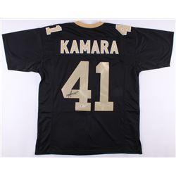Alvin Kamara Signed Saints Jersey (Beckett COA)