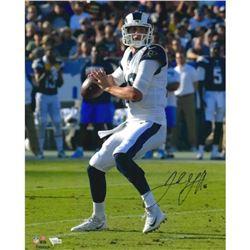 Jarod Goff Signed Rams 16x20 Photo (Fanatics Hologram)