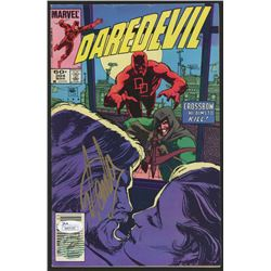 "Stan Lee Signed 1984 ""Daredevil"" Issue #204 Marvel Comic Book (JSA COA  Lee Hologram)"