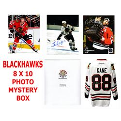 Chicago Blackhawks Signed Mystery Box 8x10 Photo - Champions Edition Series 5 - (Limited to 100) **P