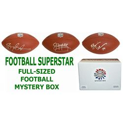 Schwartz Sports Football Superstar Signed Full Size Football - Series 7 (Limited to 75)