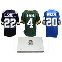 Schwartz Sports Football Hall of Famer Signed Mystery Box Football Jersey Series 11 - (Limited to 75