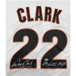 "Will Clark Signed Giants Jersey Inscribed ""89 NLCS MVP"" (MLB)"