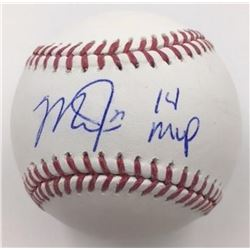 "Mike Trout Signed Baseball Inscribed ""14 MVP"" (MLB)"