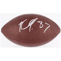 Rob Gronkowski Signed Full-Size NFL Football (JSA COA)