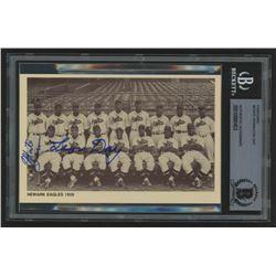 Monte Irvin  Leon Day Signed Negro League Legends Postcard (BGS Encapsulated)