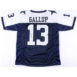 Michael Gallup Signed Cowboys Jersey (JSA COA)