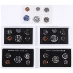 Lot of (5) United States Proof Sets with 1960, 1962, 1965, 1968, and 1969
