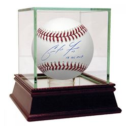 "Christian Yelich Signed Baseball Inscribed ""2018 NL MVP"" (Steiner Hologram)"