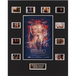 """Star Wars: Episode I – The Phantom Menace"" 8x10 Custom Matted Original Film Cell Display"