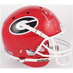 Sony Michel Signed Georgia Bulldogs Full-Size Helmet (Beckett COA)