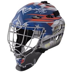 Braden Holtby Signed Capitals Full-Size Goalie Mask (Fanatics Hologram)