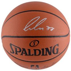 Luka Doncic Signed NBA Basketball (Fanatics Hologram)