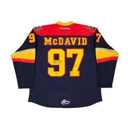 Connor McDavid Signed Erie Otters Jersey (UDA COA)