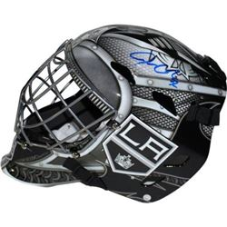 Jonathan Quick Signed Kings Full Size Goalie Mask (Steiner COA)